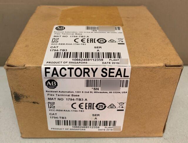 1 PCS NEW IN BOX Rockwell AB module base 1794-TB3 1794-TB3