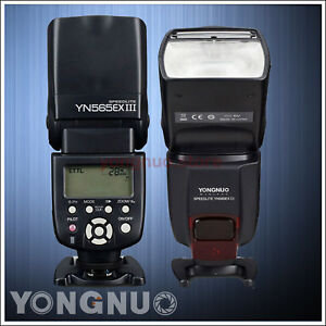 Details about Yongnuo YN-565EX III TTL Flash Speedlite for Canon 1300D  1200D 1100D 750D 650D