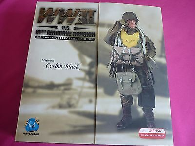 1/6 DID Corbin Black U.S. 82nd Airborne