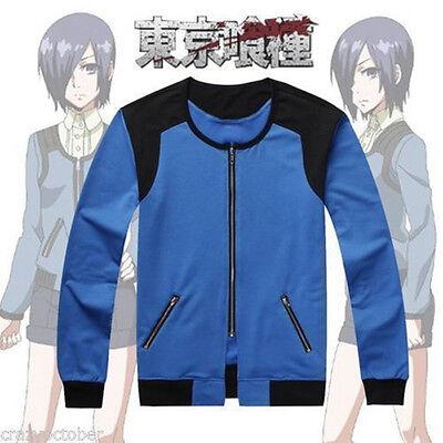 Anime Tokyo Ghouls Costume Unisex Baseball Uiform Jacket Sweater Coat