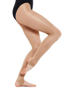 LADIES-WOMENS-ADULT-SILKY-SHIMMER-DANCE-TIGHTS-FULL-FOOT-OR-STIRRUP-FOOT