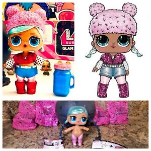 Lol Surprise Brrr Bb Baby Glam Glitter Series 2 Doll Ball Authentic Sparkle New Ebay