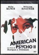 dvd - AMERICAN PSYCHO II