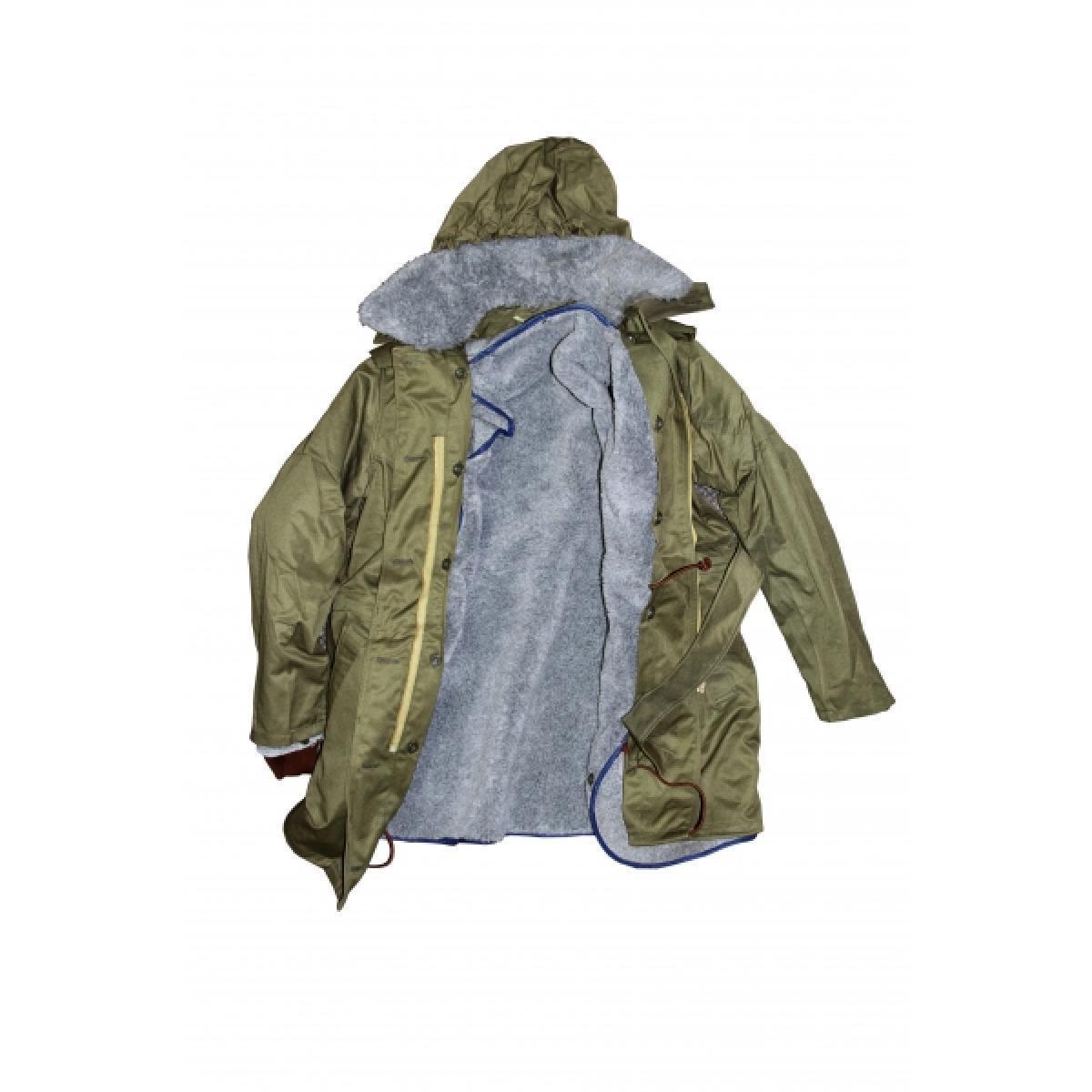 Genuine Czech Military Surplus Top Quality Parka w/ liner, hood & fur collar,New