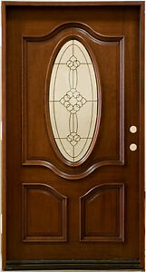 Mahogany 42 Quot Front Entry Door Pre Hung Amp Finished Smh7350