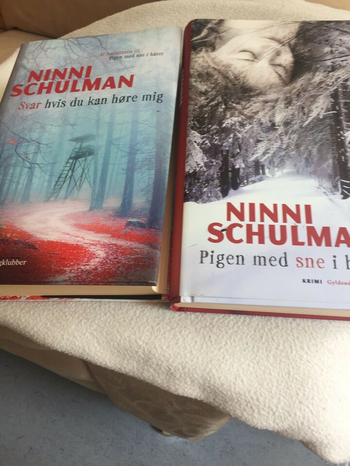 Krimier af Ninni Schulman