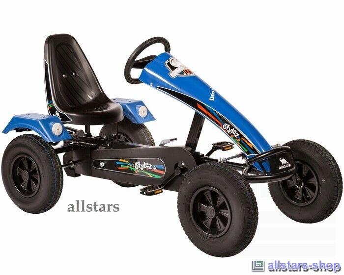 Allstars DinoCars DinoCars DinoCars GoCart GoKart Stylez S214 schwarz-blau Kinderauto Kettcar Car 067148