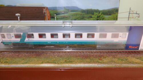 ROCO 64082B Eurofima 1a cl. livrea XMPR fascia verde obliqua,logo FS Trenitalia