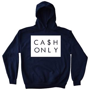 Cash Men's Hoodie To Match Retro Jordans 11 Midnight Navy UNC Gum Low IE