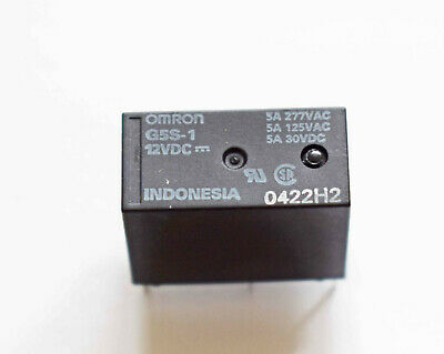 OEG OMI-SS-212D Relay 12V Coil 2 pole change over OM0333
