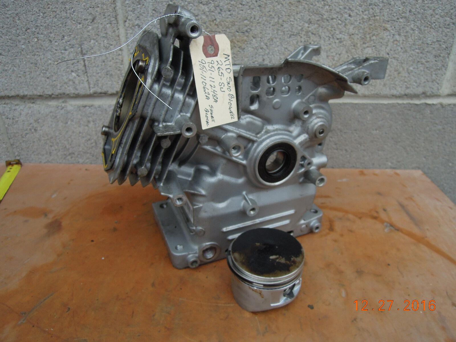MTD Snowblower OHV del bloque del motor y pistón 265-SU