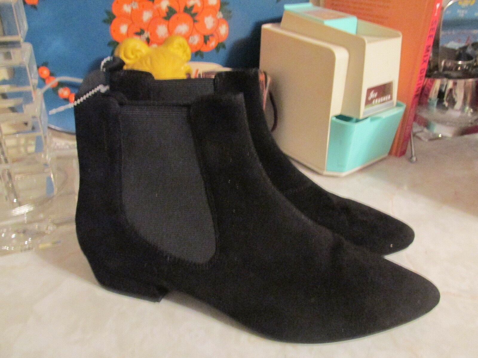 Vagabond Suede leather pointy toe ankle boots NWOB EU 41 US 10.5 11
