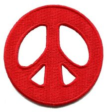 Lot de 4 Peace Sign Rétro Boho Hippie Love Weed Flower Power iron-on patches P-1