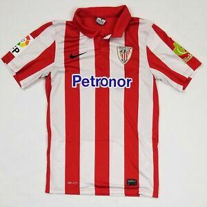 Histérico suelo Sospechar  2013-2014 Athletic Bilbao Shirt Football Kit Soccer Jersey vintage NIKE  SMALL | eBay