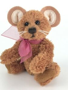 Charlie Bears Cheesecloth Mouse Keyring