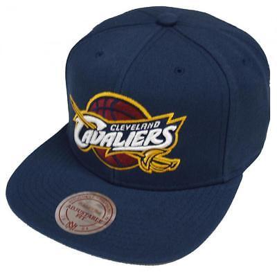 Mitchell /& Ness Cleveland Cavaliers Blue Linen VR14Z Snapback Cap Kappe Basecap