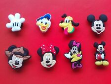 Shoe Charms For Crocs and Jibbitz Wristbands Free UK P/&P Mickey Mouse 2 Pluto