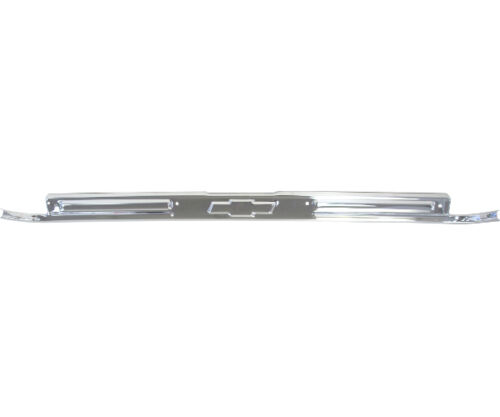 67 68 69 70 71 72 Chevy PickupTruck Door Sill Scuff Plate w// Bow-Tie Chrome Each