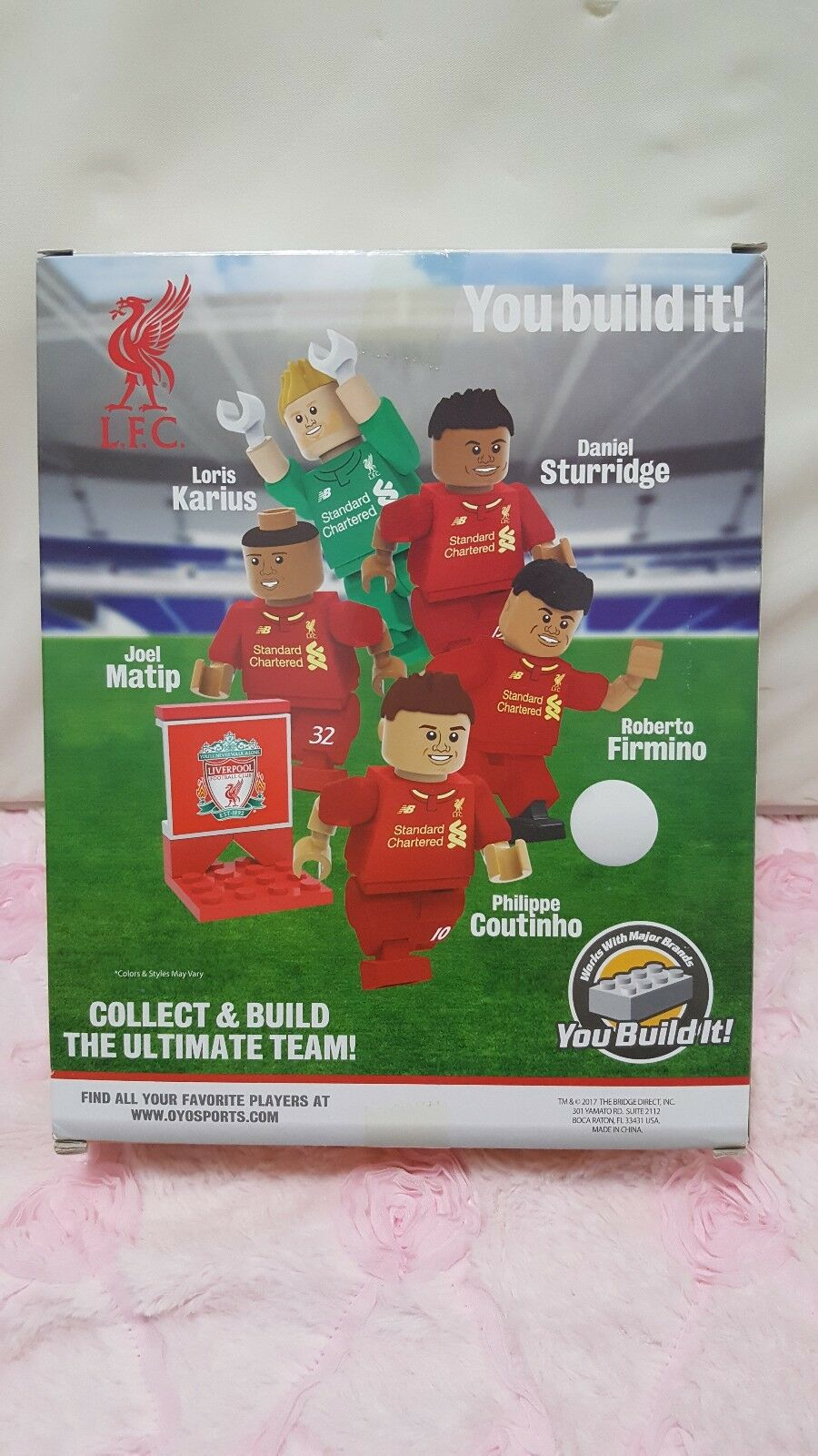 LFC Liverpool FC Collector Set Soccer Team Team Team Collect and Build The Ultimate Team fd78a1