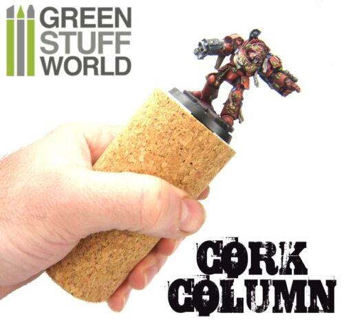 Sculpting COLUMN Cork for armatures 1 unit pinning miniatures warhammer paint