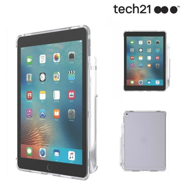 """Genuine TECH21 Impact Clear iPad Pro 9.7"""" Ultra Thin Lightweight Case - Clear"""