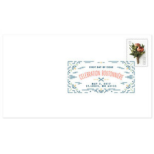 USPS-New-Celebration-Boutonniere-Digital-Color-Postmark