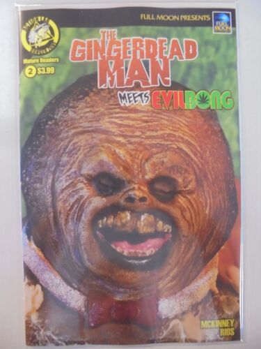 The Gingerdead Man Meets Evilbong #2 Photo B Cover VF//NM Action Lab Comics Book