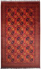 Orientteppich Afghan Teppich 300 x 199 cm Unikat Handgeknüpft aus Schurwolle