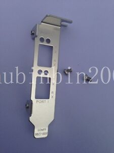 Low Profile Bracket for Emulex LPE12002, LPE16002; HP AJ763A,82E