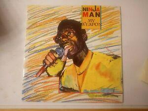 Ninja-Man-My-Weapon-Vinyl-LP-1990