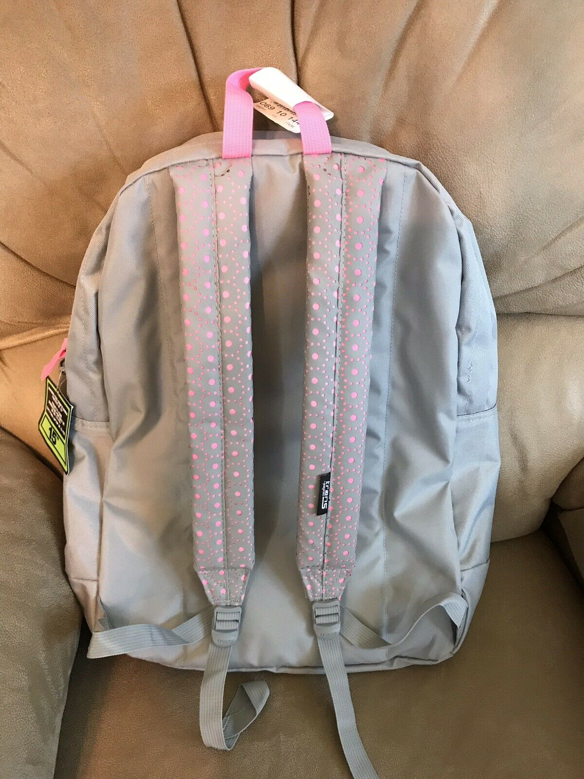 """Jansport SuperMax Backpack Overt Laser Lace Holds 15/"""" laptop FAST SHIP"""