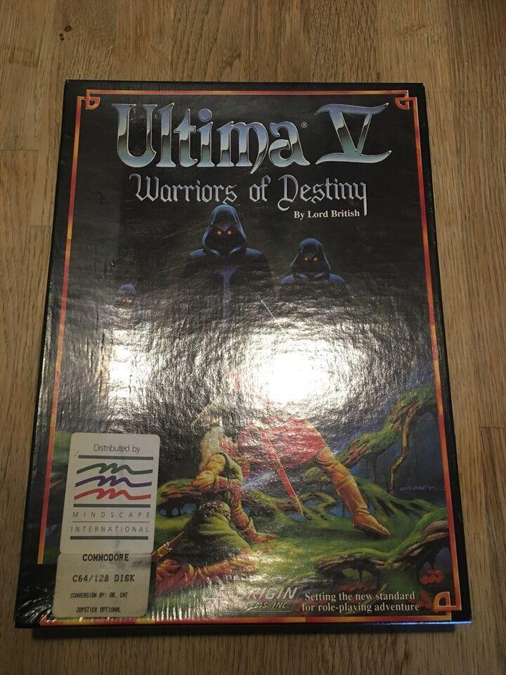 Ultima V Commodore 64, spillekonsol