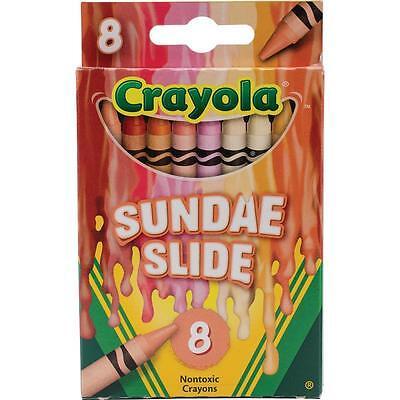 Crayola Melted Crayon Art Crayons - Sundae Slide - Package of 8