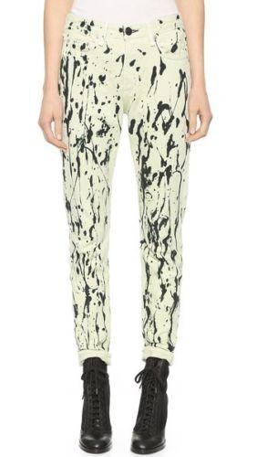 Acid Abstracted 395 Animal Mum Jeans Pants Rag White Bone 28 Nwt Skinny cxPWRn14