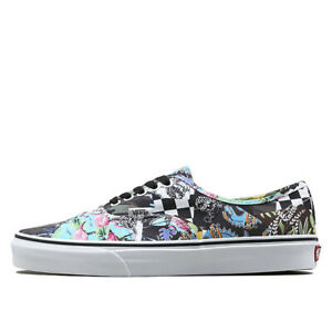 92803f2835 New Vans Authentic Mash Up Multi Floral Print White Sneakers Shoes ...