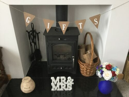 GIFTS Card Banner//Bunting Rustic Handmade Wedding Birthday Party Garland Sign