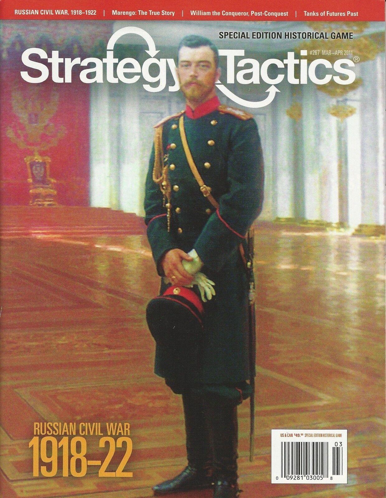 Strategy & Tactics S&T 267 Russie  guerre civile édition révisée avec solitaire règles  service attentionné