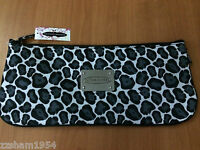 Chinese Laundry Leopard Cosmetic Bag Pouch Makeup Bag Designer Case Large $14.99