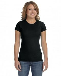BELLA-CANVAS-WOMEN-039-S-BABY-RIB-SHORT-SLEEVE-TEE
