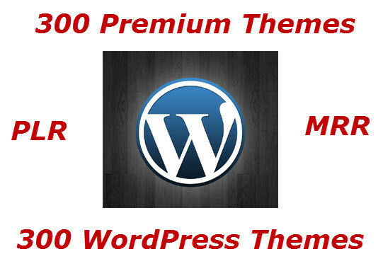 300 Premium Wordpress Themes With Resell Rights - CD/DVD 2