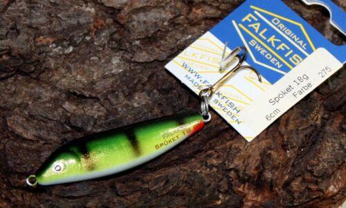 Falkfish Spöket 6cm 18g Meerforellenwobbler Jerkbait OVP