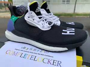 best website d15b3 0fc77 Details about New 2018 adidas Solar Hu Glide Black Human Race BB8041 Mens  Shoes SZ 8