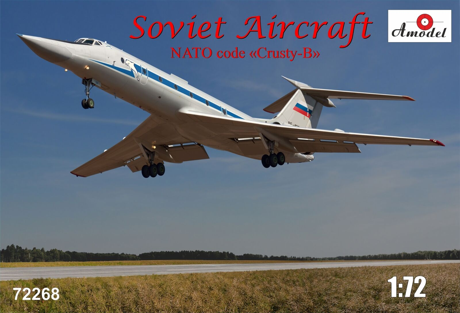 Amodel 1 72 Tupolev Tu-134UBL NATO code 'Crusty B'   72268