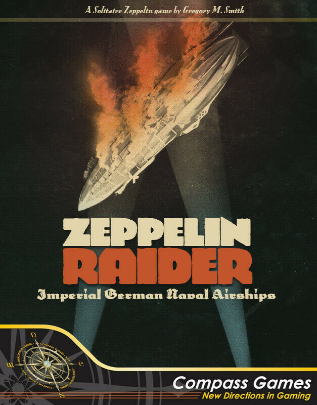 Compass Games Zeppelin Raider  Imperial German Naval Airships NISW Fast Shipping