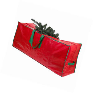 Christmas Artificial Tree Storage Bag Heavy Duty 48 X 15 X 20   Red