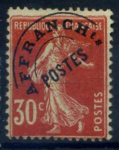 Francia-1922-Yv-58-Senza-gomma-100-Soprastampato-30-c-Seminatrice