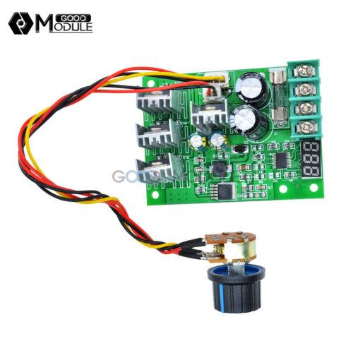 30A DC 6-60V PWM Motor Speed Controller Module Dimmer Current Regulator+Display