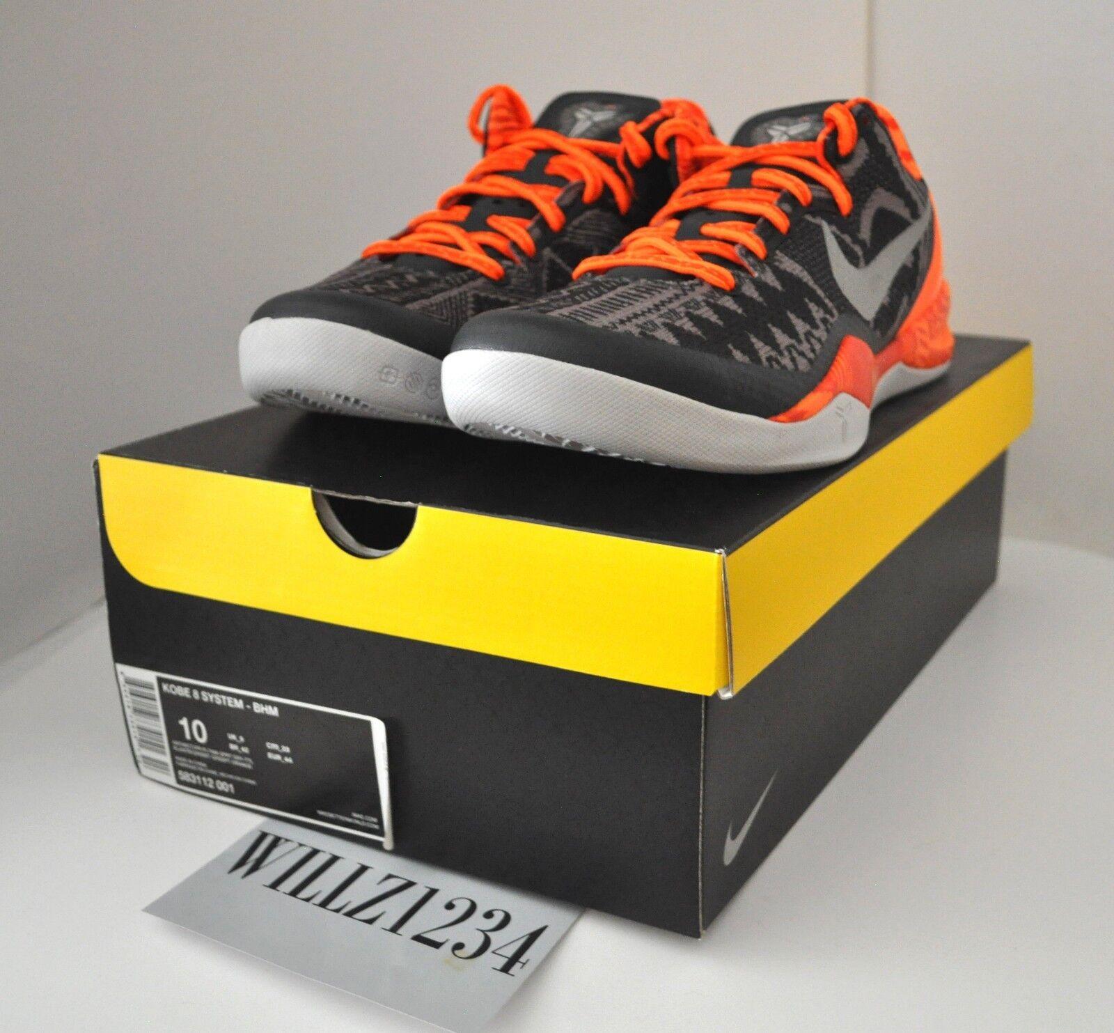 NikeLab NikeLab NikeLab Nike Air Force 1 AF1 Downtown Hi SP x ACRONYM Black Sz 10.5 649941 003 5a5862