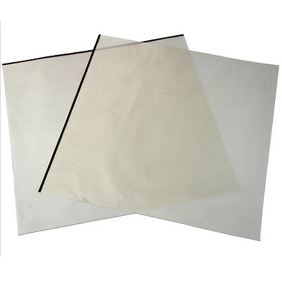 2 Reusable Heat Press Teflon Sheets 48cm x 58cm T-Shirt Sublimation Transfer