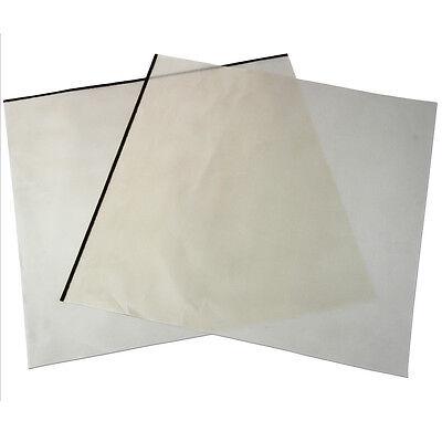 2 Reusable Heat Press Teflon Sheets 48cm x 58cm T-Shirt Sublimation Transfer